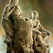 The Woman at the Well (Maquette)