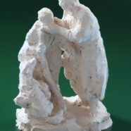 Christ Healing the Leper (Clay Sketch)